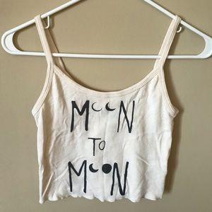 "Billabong ""moon to moon"" crop top"